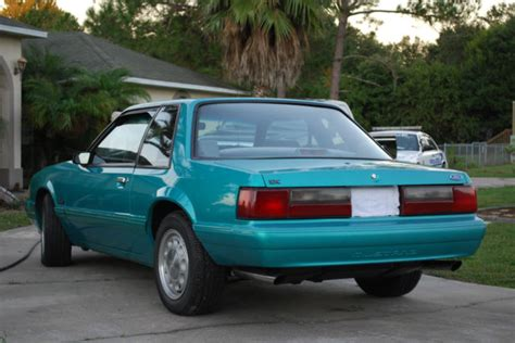 ford mustang lx notchback coupe fhp ssp