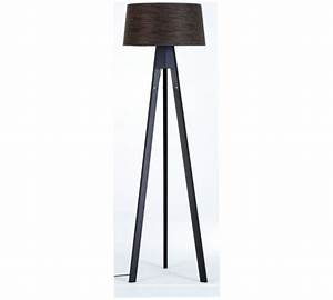 Buy habitat tripod dark stained wooden floor lamp at argos for Wooden tripod floor lamp argos