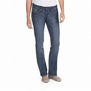 Slim Bootcut Jeans Womens - Jeans Am