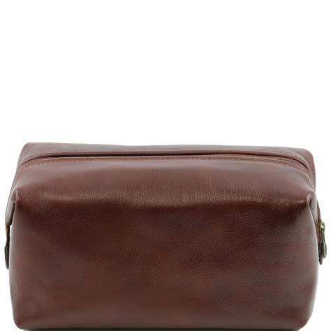 trousse de toilette en cuir smarty grand mod 232 le tuscany leather