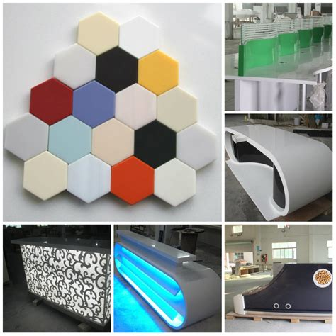 Lg Corian China 180 Colors Corian Solid Surface Sheets Glacier