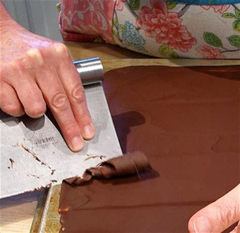 chocolate curls craftybaking  baking