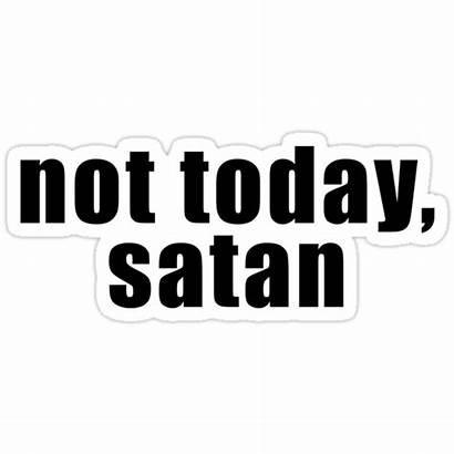 Stickers Satan Sticker Today Redbubble Laptop Snapchat