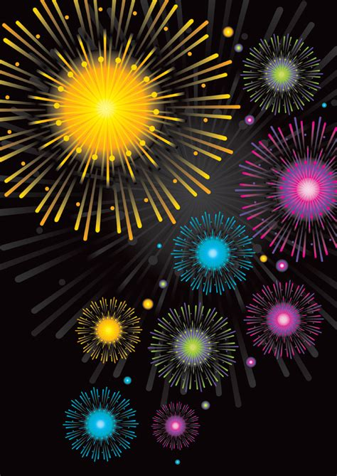 fireworks poster background  poster templates