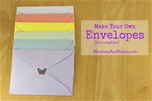 make your own envelopes free template With how to print your own envelopes