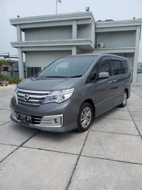 Mobil Nissan Serena by Nissan Serena All New Hws Panoramik Autech Matic 2016 Grey