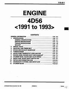 Mitsubishi Delica L300 4d56 Engine Manual By Felix