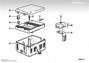 Fuse Box Bmw 3 U0026 39  E30  320i  M20   U2014 Bmw Parts Catalog