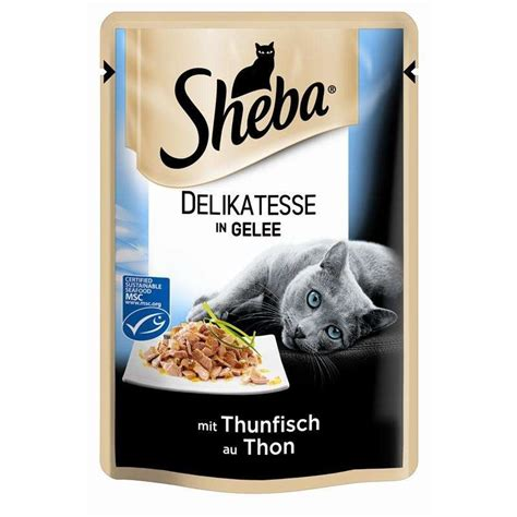 sheba pouch delicacy  chicken  jelly
