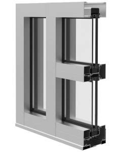Ykk Impact Curtain Wall by Storefront System Is Impact Resistant Retrofit