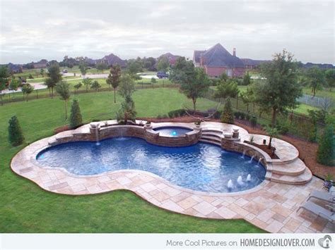 Pool Design Ideas by 15 Remarkable Free Form Pool Designs Outdoors Swimming