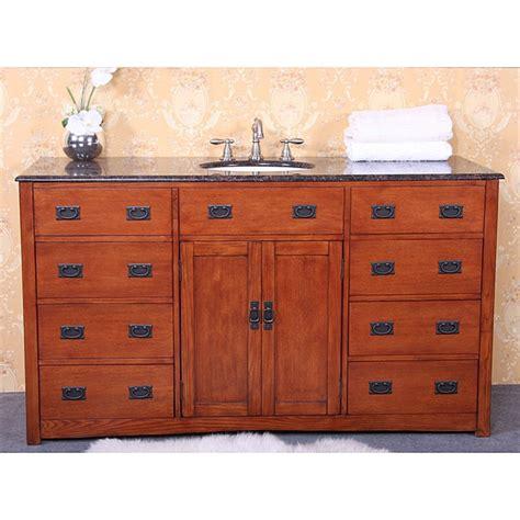 60 inch vanity cabinet single sink granite top 60 inch single sink bathroom vanity 14283163