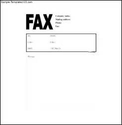 Word Fax Cover Letter Free Sle Invoice Cover Letter