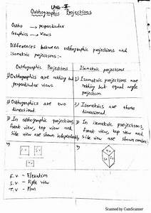 Note For Engineering Drawing