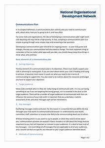 Examples Of Methodology 37 Simple Communication Plan Examples Free Templates ᐅ