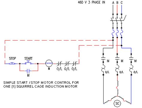 Start Stop Wire Motor Control Ecn Electrical Forums