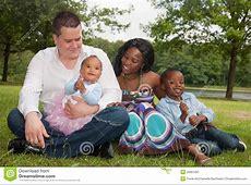 Famiglia Africana Multiculturale Immagine Stock Immagine
