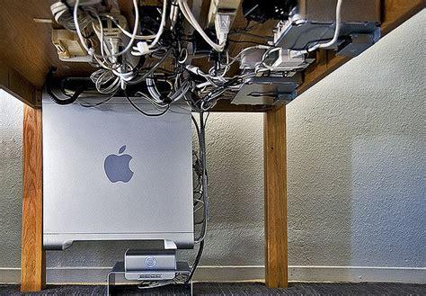 under desk wire management pin by leonardo leiva on productivity solutions hacks