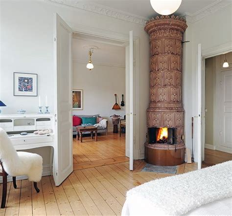 scandinavian fireplace design the beauty of swedish fireplaces
