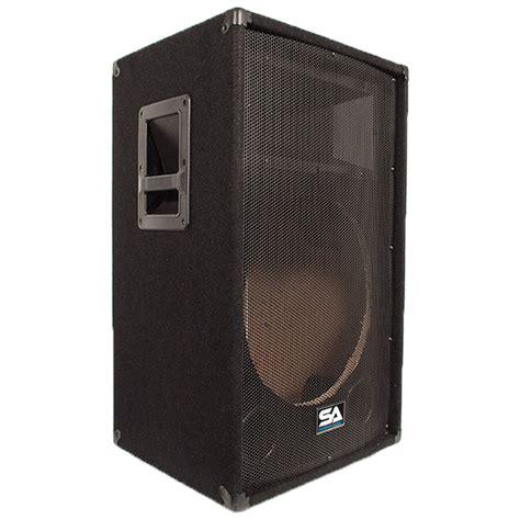Pro Design Bösel by Seismic Audio Empty 15 Inch Pa Dj Band Speaker