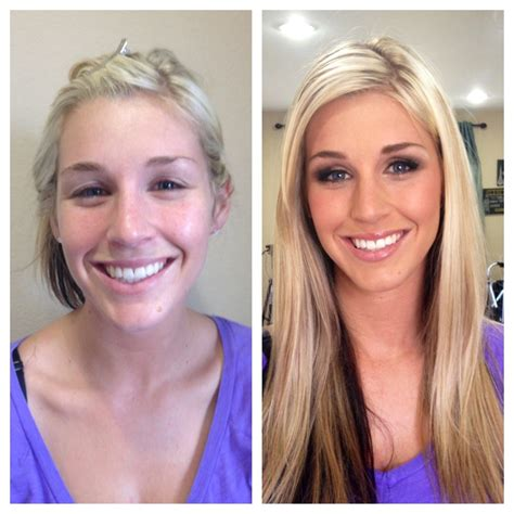 Before After Photos That Shows The Power Of Makeup