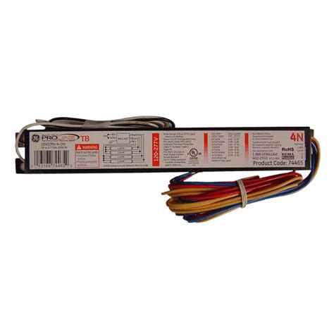 3 l t8 ballast 120 to 277 volt electronic ballast for 4 ft 4 l t8