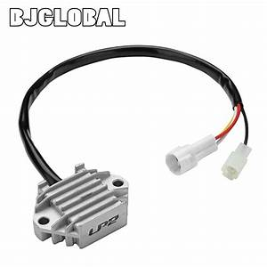 Bjglobal Dc 12v Motorcycle Voltage Regulator Rectifier For