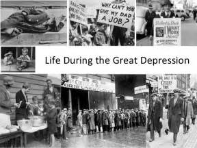 during the great depression