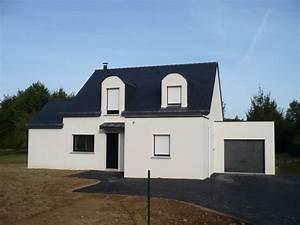 Peinture Pour Façade De Maison : couleur faade maison moderne couleur crepi facade ~ Premium-room.com Idées de Décoration