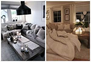 idees et photos pour une salle de sejour moderne rustique With salle de sejour moderne