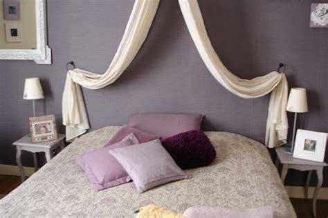 deco chambre adulte gris et blanc déco chambre en mauve