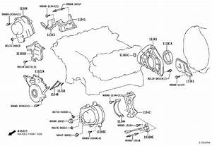 Toyota Tundra Cover Sub-assembly  Timing Chain Or Belt  Engine