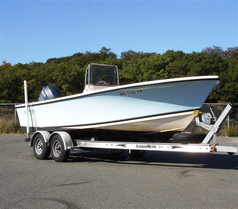 Jones Brothers Boats by Sold 2005 20ft Jones Brothers Lt Cape Fisherman For Sale