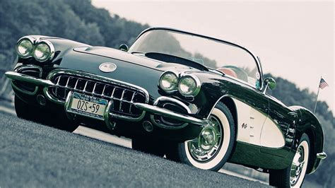 New York Classic Cars Hd Wallpapers Widescreen 1366×768