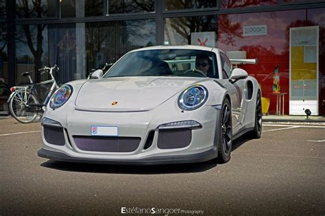 porsche gt3 gray fashion grey porsche 991 gt3 rs spotted with guard dog