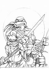 Coloring Pages Printable Ninja Turtles Mutant Teenage Splinter Tmnt Colouring Leonardo Turtle Sheets Drawing Drawings Leo Battle Makinbacon Adult Books sketch template