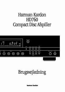 Harman Kardon Hd 760  Serv Man2  User Guide    Operation
