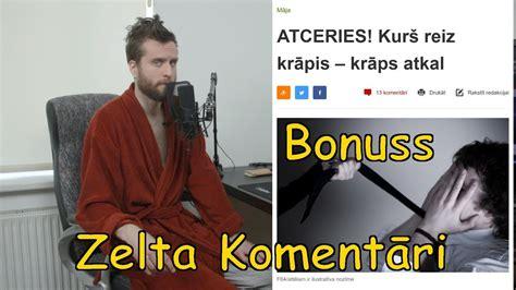 Zelta Komentāri - Krāpšana (nra.lv bonuss) - YouTube