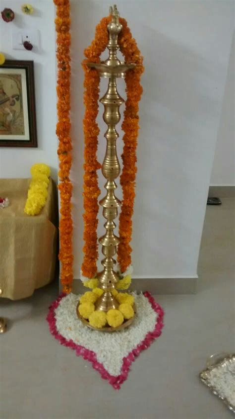 gruhapravesam  saran manoj goddess decor housewarming
