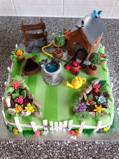 garden birthday cake cake by emms cakesdecor