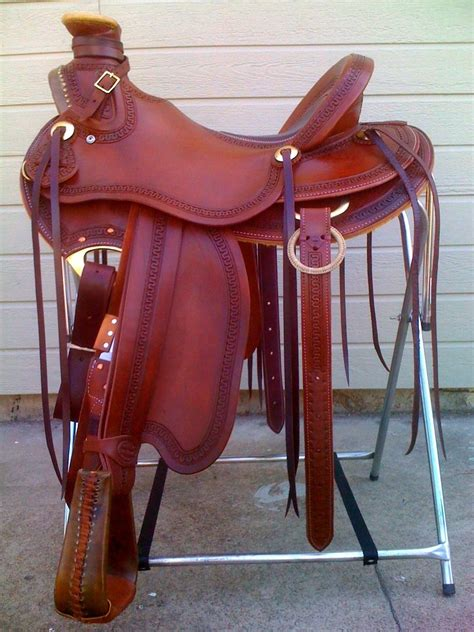 saddle saddles wade western roping horse ranch spanish tack custom riding brands handmade they horses there hunting cowboy delight superb