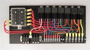 7  Switched Panel W   All Relays In Relay Sockets  U2013 Ce Auto Electric Supply