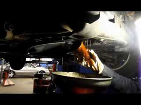 oil change  filter  trailblazer youtube