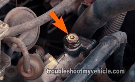 part    test  fuel pump honda
