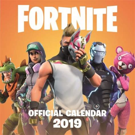 fortnite wall calendar