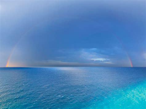 Blue Sea Wallpaper Wallpapersafari