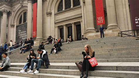 ny s metropolitan museum of to charge entry fee for time in 50 years