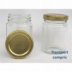 Pot Verre Couvercle : pots ronds 106 ml avec couvercle aux choix livraison 72 heures ~ Teatrodelosmanantiales.com Idées de Décoration