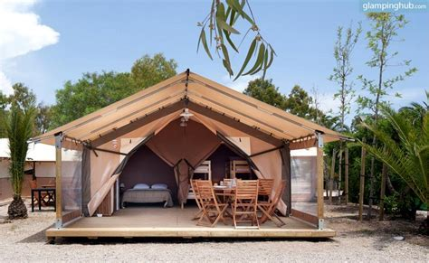 Luxury Safari Tents in Spain