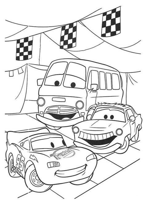 Cars Disney Kleurplaat by Kleurplaat Cars Knutselen Kleurplaten Gratis